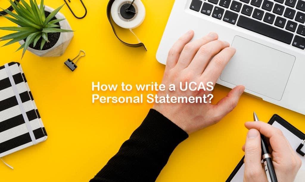Personal Statement UCAS